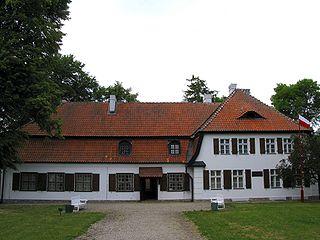 Będomin Village in Pomeranian Voivodeship, Poland