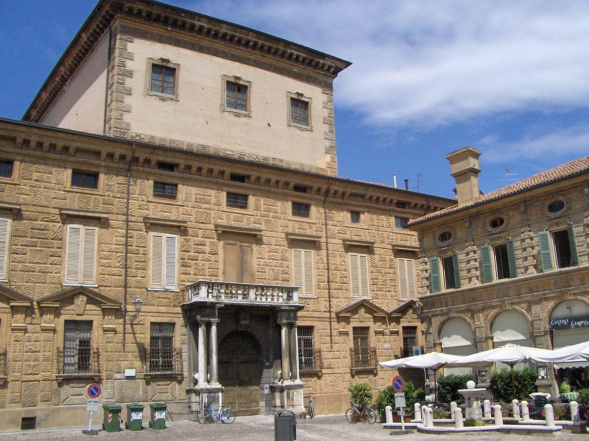 Palazzo canossa mantova wikipedia - Architetto mantova ...