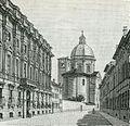 Mantova Palazzo di Giustizia e parte posteriore della Basilica di Santa Barbara.jpg
