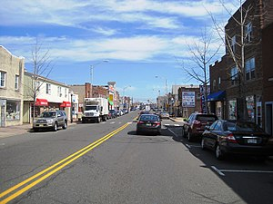 Manville, New Jersey - Central business district of Manville