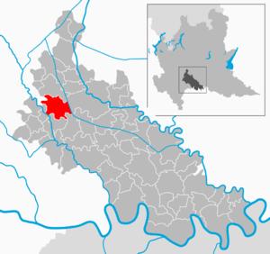 Lodi Vecchio - Image: Map IT Lodi Lodi Vecchio