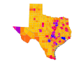 Map NRHP Texas nolabel.svg