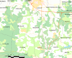 Map commune FR insee code 33279.png
