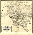 Map of Los Angeles County - electric, steam railway lines, and mountain guide and also portion of Orange County LOC 2006627661.jpg