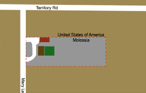 Republic of Molossia - Image: Map of Molossia small