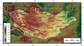 Map of Mongolia topographic layers.xcf