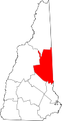 Map of New Hampshire highlighting Carroll County.svg