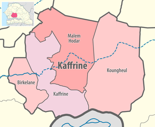 Koungheul Department Department in Kaffrine Region, Senegal