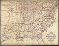 Map showing cotton growing region of the United States and means of transportation by water and rail (9473843428).jpg