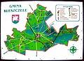 Mapa gminy Kleszczele w Parku Miejskim, Kleszczele, Polska - 20070925.jpg