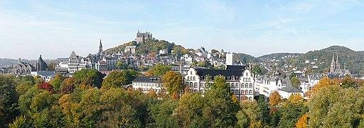 Marburg Oberstadt von O