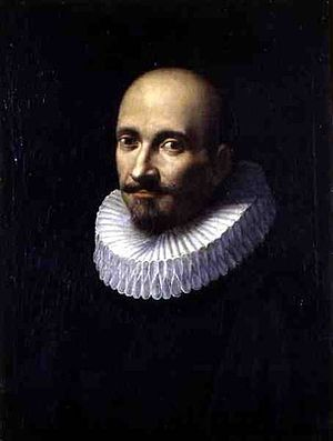 Marcello Provenzale - Selfportrait, oil on canvas, of Marcello Provenzale (1575–1639)