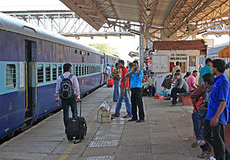 Margao railway station Margao railwaystation.JPG