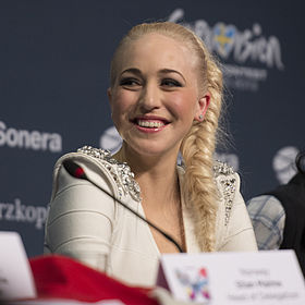 Margaret Berger, ESC2013 press conference 01 (crop).jpg