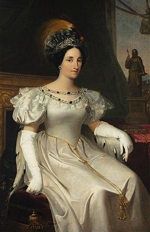 Maria Beatrice of Savoy - Portrait by Adeodata Malatesta