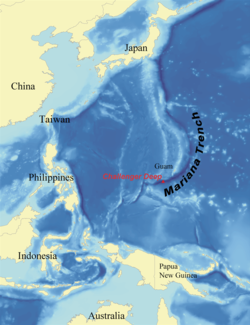 Mariana Trench - Wikipedia, the free encyclopedia