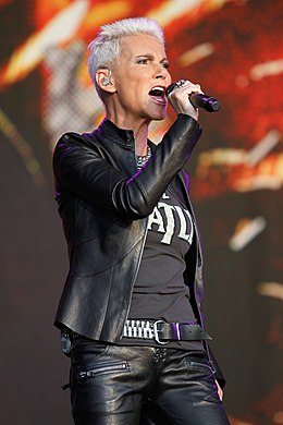 Marie Fredriksson-Roxette at Bospop festival The Netherlands 2011.jpg
