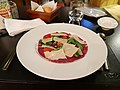 Marinated Angus Beef Carpaccio with Rockets, Cherry Tomatoes and Parmesan Shaves.jpg