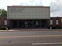 Marion County Courthouse in Hamilton, Alabama.jpg