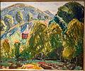 Marlboro Landscape (House in Hills) by Alfred H. Maurer, c. 1916, oil on gessoed board - New Britain Museum of American Art - DSC09706.JPG