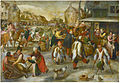 Marten van Cleve - Carnival in a Village with Beggars Dancing.jpg