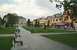 Martin, Slovakia - City centre of Martin.
