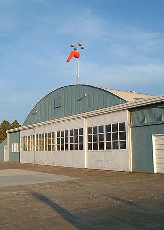 Martin Field (Washington) - Hangar at Martin Field