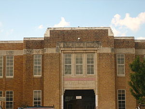 Martin High School (Laredo, Texas) - The former gymnasium at Martin High School