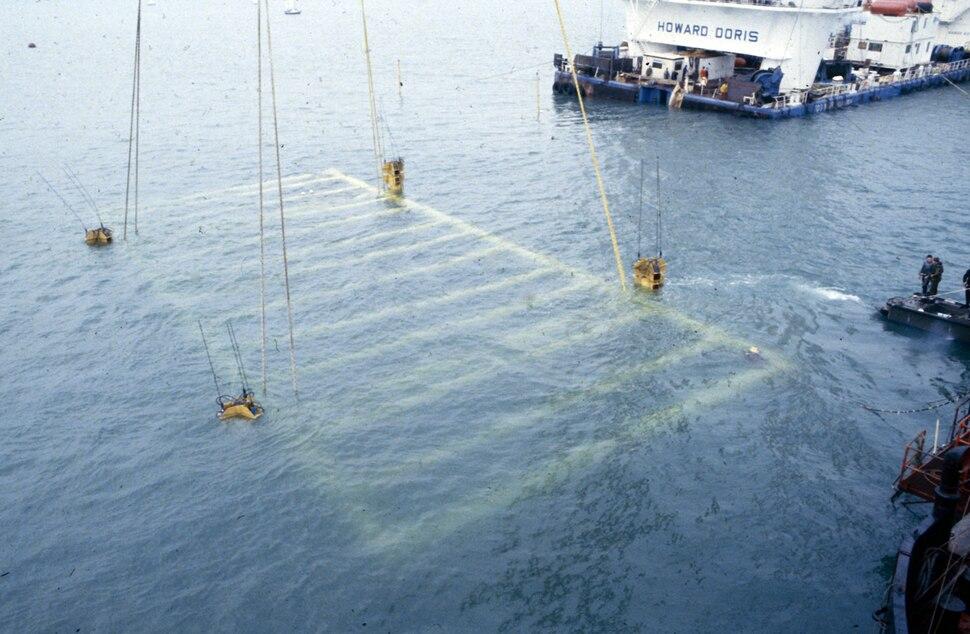 MaryRose-salvage1982-below water
