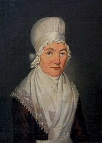 Mary Hardy (diarist) - Mary Hardy in 1798 aged 64, by Immanuel; by this time she had become an active Methodist (Cozens-Hardy Collection)