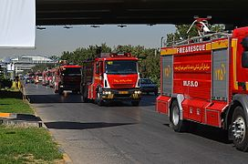 Mashhad Firefighter's Parade 02