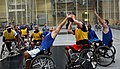 Master Sgt. Hendrix wins the battle for the ball at Wheelchair Basketball at Warrior Trials 140616-A-MU502-017.jpg