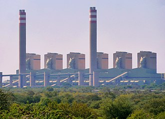 Matimba Power Station - Image: Matimbakragstasie, Ellisras, Limpopo