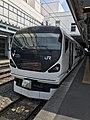 Matsumoto Station (Azusa seriesE257).jpg