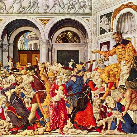 The Massacre of the Innocents at Bethlehem, by Matteo di Giovanni Matteo di Giovanni 002.jpg