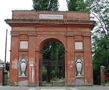Access to the villa where Ariosto was born (Source: Wikimedia)