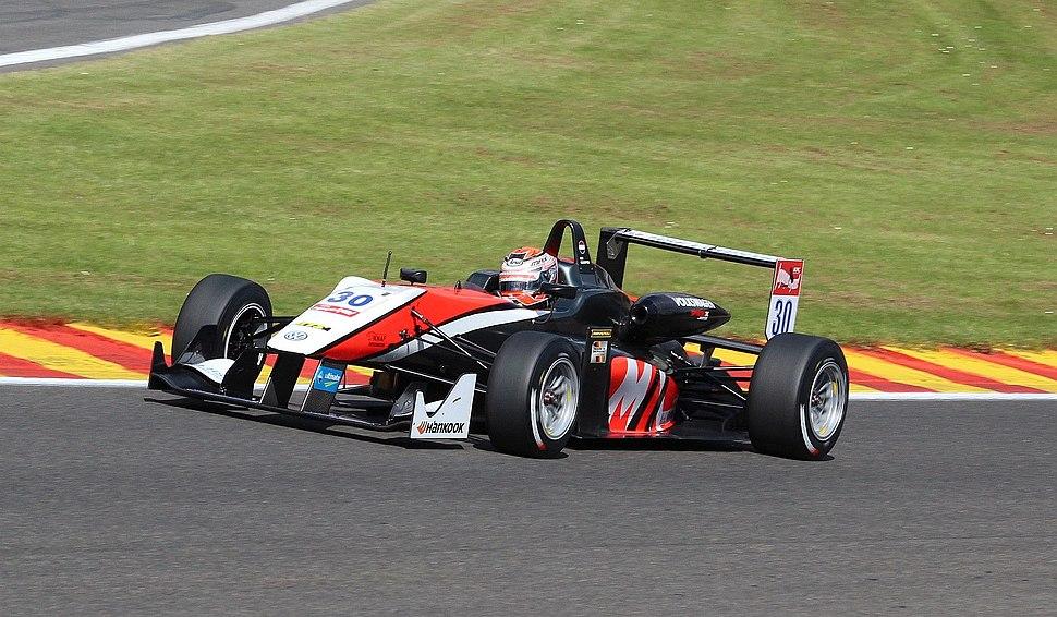 Max Verstappen, Formel 3 2014