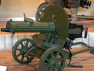 PM M1910 Type of Medium machine gun
