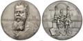 Medaille Wilhelm von Hartel 1896.png