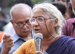 Medha Patkar - Medha Patkar in 2011