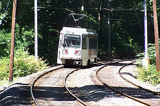 Pine Ridge station SEPTA Route 101 station