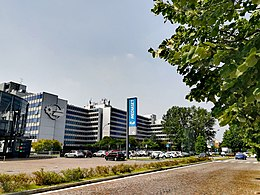 Mediaset production center, Cologno Monzese, metropolitan city of Milan, Italy.jpg