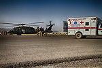 Medical evacuation to Kandahar Airfield 140927-N-JY715-948.jpg
