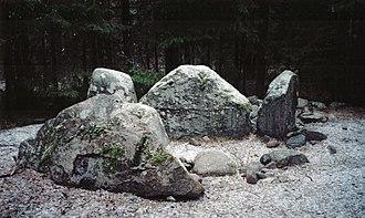 Gnisvärd - Image: Megalith tomb Gnisvärd winter