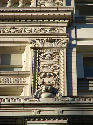 Meier & Frank Building - Detail of terracotta.