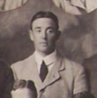 Mel Baker - Mel Baker with the British Isles team in 1910