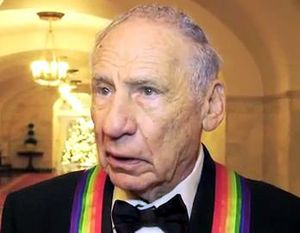 English: Mel Brooks at the White House for the...