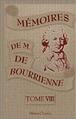 Memoires de Louis Antoine Fauvelet de Bourrienne cover vol VII.png