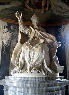 <i>Statue of Pope Urban VIII</i>
