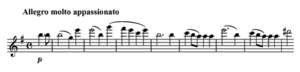 Violin Concerto (Mendelssohn) - The opening of the Violin Concerto